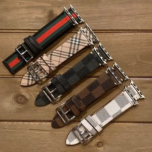 Other - Apple Watch Bands Genuine Leather